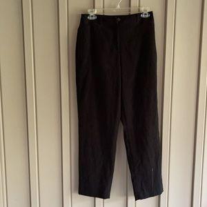 Talbots Black Dress Pants size 4